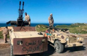 Forces in eastern Libya 'seize control of airport'