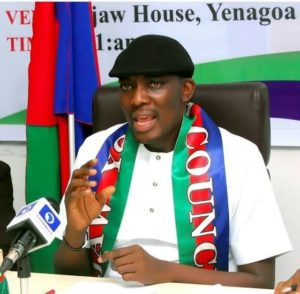 IYC president Oweilaemi storms Izanzan camp, preaches unity, passes vote of confidence on IIA