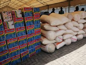 COVID-19: Guwor Puts Smiles on Constituents With Massive Food Items – The Liberator